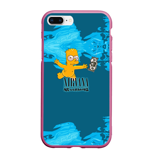 Чехол для iPhone 7Plus/8 Plus матовый Nirvana & Simpson Фото 01