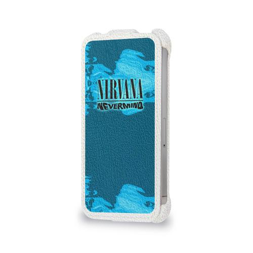 Чехол для Apple iPhone 4/4S flip  Фото 06, Nirvana & Simpson