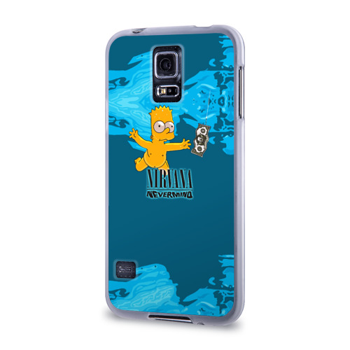Чехол для Samsung Galaxy S5 силиконовый  Фото 03, Nirvana & Simpson