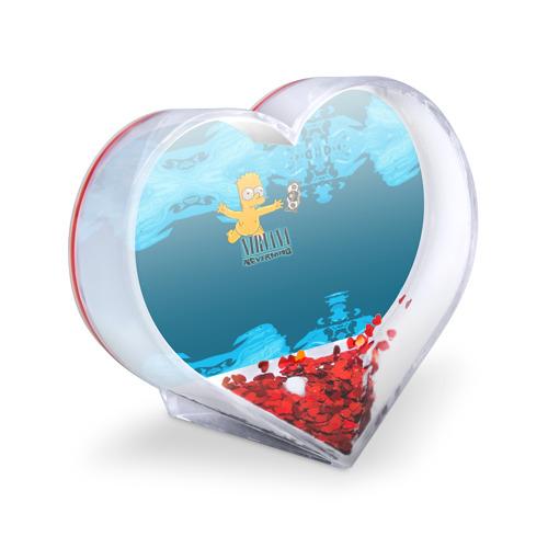 Сувенир Сердце  Фото 03, Nirvana & Simpson