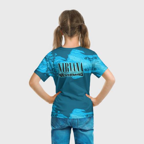 Детская футболка 3D  Фото 04, Nirvana & Simpson