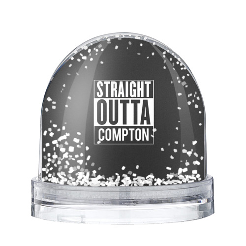 Водяной шар со снегом Straight Outta Compton