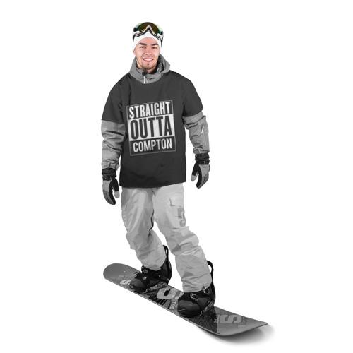 Накидка на куртку 3D  Фото 03, Straight Outta Compton