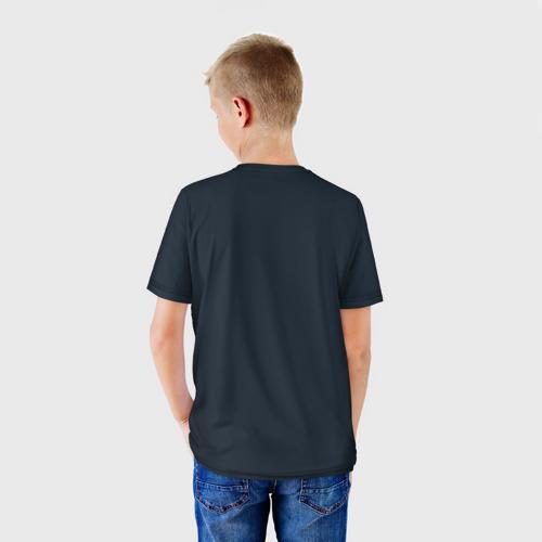 Детская футболка 3D  Фото 02, Велогонщик