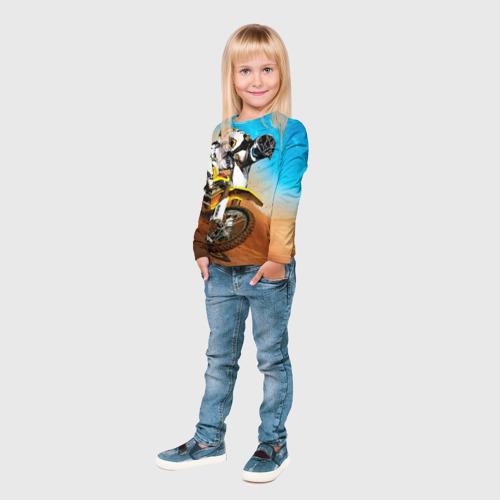 Детский лонгслив 3D  Фото 04, Эндуро