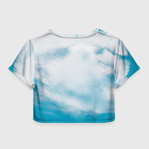 Женская футболка 3D укороченная  Фото 02, Эндуро