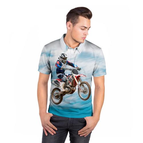 Мужская рубашка поло 3D  Фото 05, Эндуро