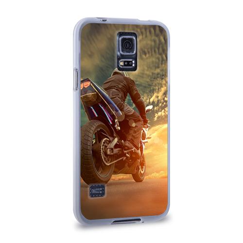 Чехол для Samsung Galaxy S5 силиконовый  Фото 02, Мото