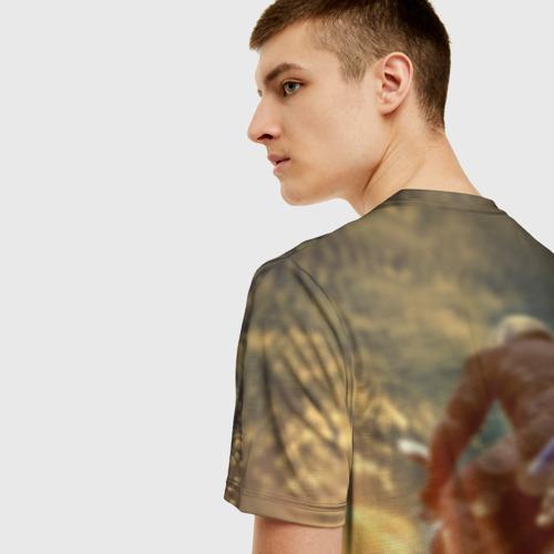 Мужская футболка 3D Мото Фото 01