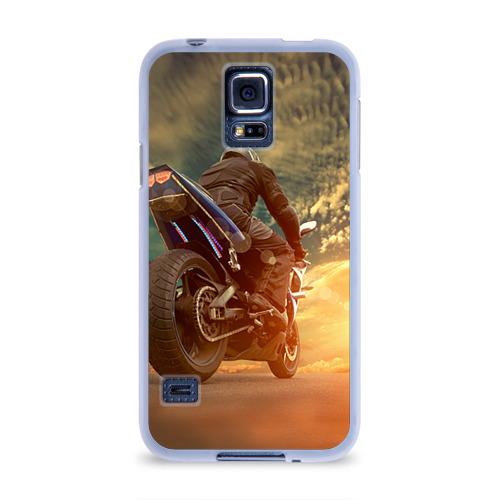 Чехол для Samsung Galaxy S5 силиконовый  Фото 01, Мото