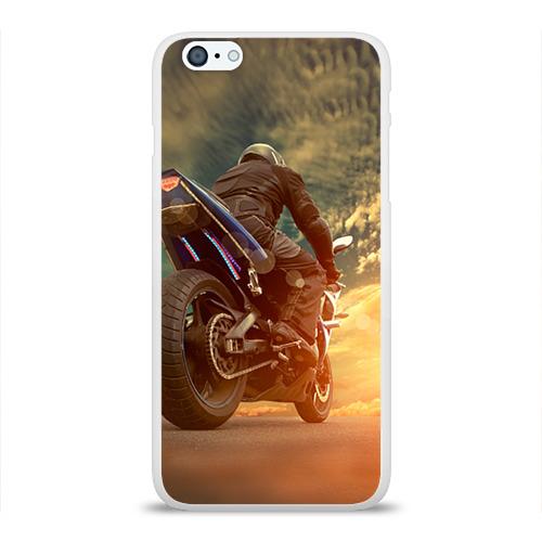 Чехол для Apple iPhone 6Plus/6SPlus силиконовый глянцевый  Фото 01, Мото