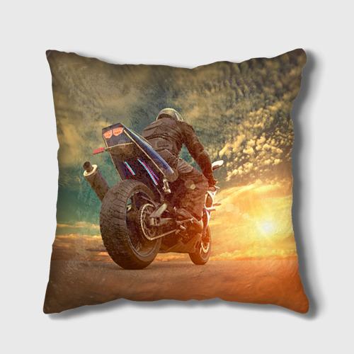 Подушка 3D Мото Фото 01