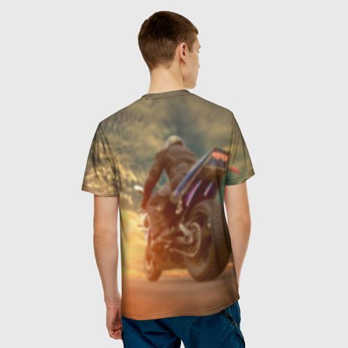 Мужская футболка 3D  Фото 02, Мото