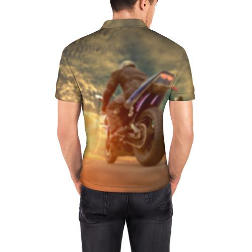 Мужская рубашка поло 3D  Фото 04, Мото