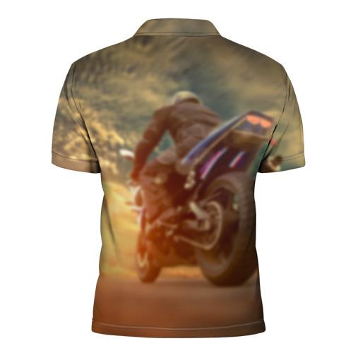 Мужская рубашка поло 3D  Фото 02, Мото