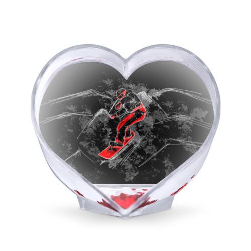 Сувенир Сердце  Фото 01, Сноубордист