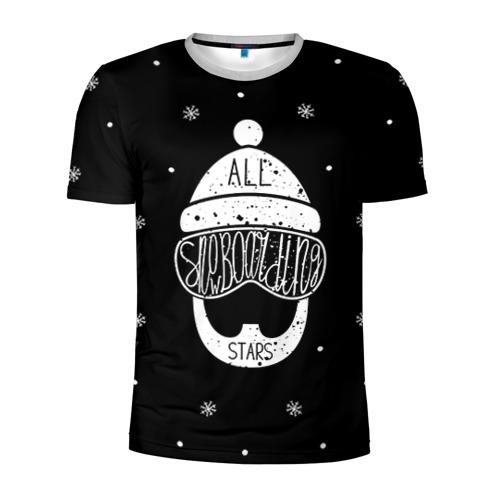 Бородатый сноубордист