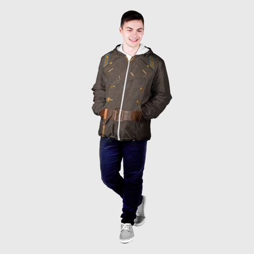 Мужская куртка 3D  Фото 03, Шинель