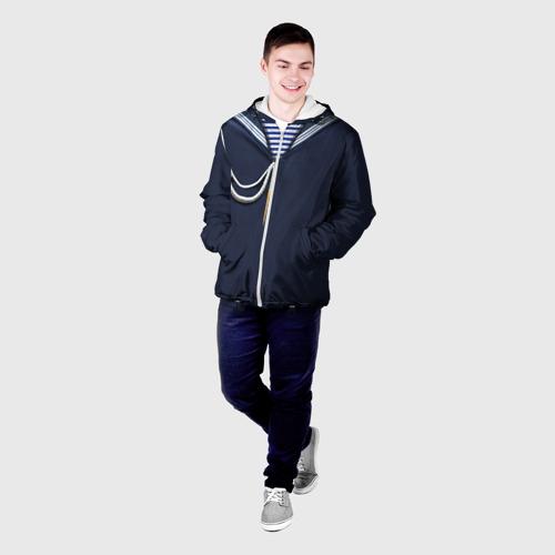 Мужская куртка 3D  Фото 03, Форма ВМФ