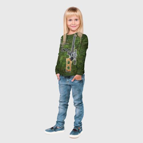 Детский лонгслив 3D  Фото 04, ВСС