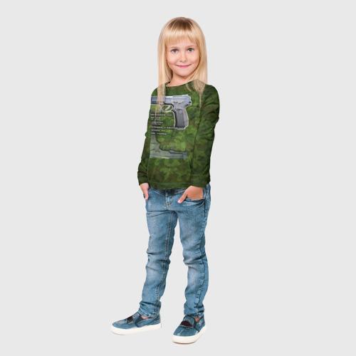 Детский лонгслив 3D  Фото 04, ПЯ