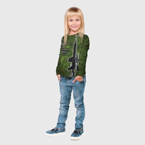 Детский лонгслив 3D  Фото 04, СВД-С