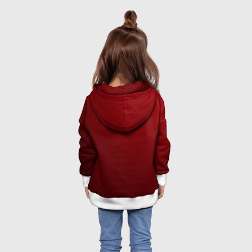 Детская толстовка 3D  Фото 02, Вовкина девочка