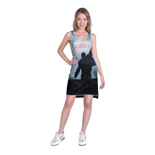 Платье-майка 3D  Фото 03, Queen