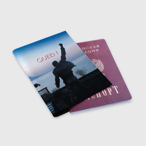 Обложка для паспорта матовая кожа  Фото 03, Queen