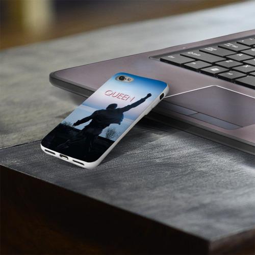 Чехол для Apple iPhone 8 силиконовый глянцевый  Фото 03, Queen