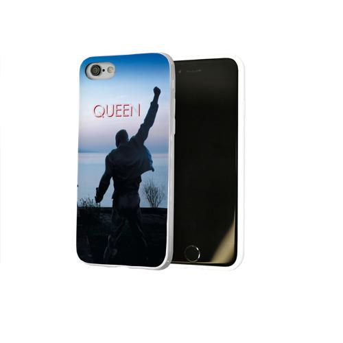 Чехол для Apple iPhone 8 силиконовый глянцевый  Фото 02, Queen