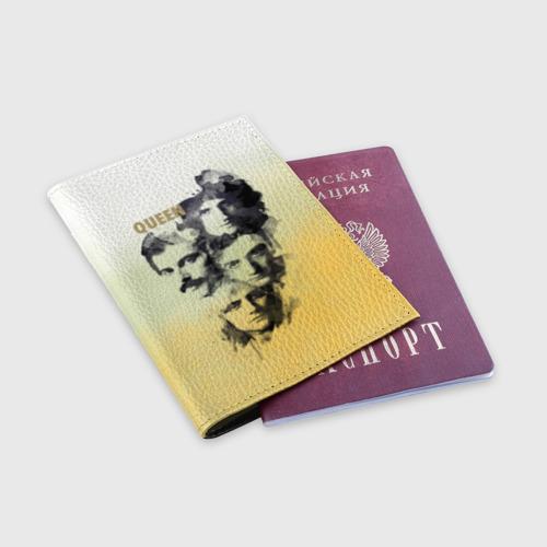 Обложка для паспорта матовая кожа  Фото 03, Queen группа