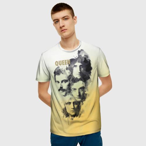 Мужская футболка 3D Queen группа Фото 01