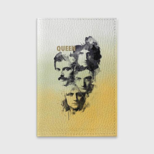 Обложка для паспорта матовая кожа  Фото 01, Queen группа