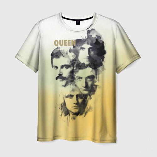 Мужская футболка 3D  Фото 01, Queen группа