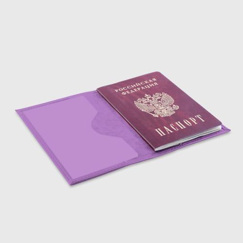 Обложка для паспорта матовая кожа Queen группа Фото 01