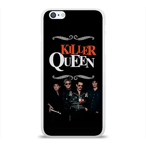 Чехол для Apple iPhone 6Plus/6SPlus силиконовый глянцевый  Фото 01, Killer Queen