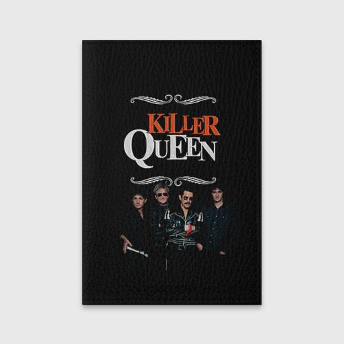 Обложка для паспорта матовая кожа  Фото 01, Killer Queen