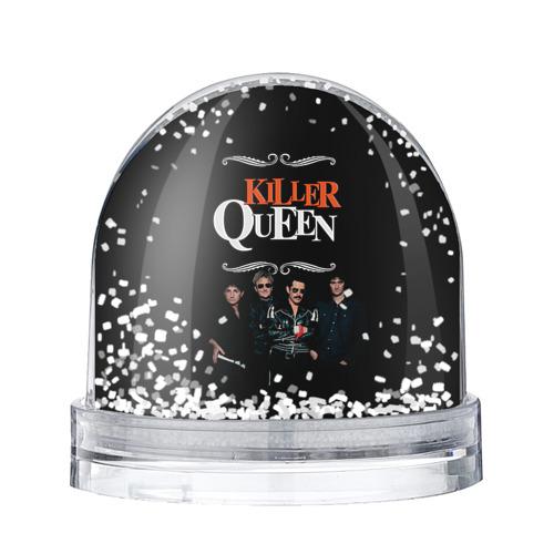 Водяной шар со снегом Killer Queen