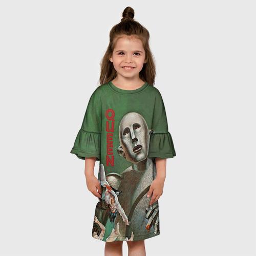 Детское платье 3D  Фото 01, Queen