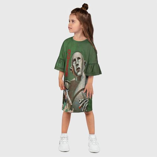 Детское платье 3D  Фото 03, Queen