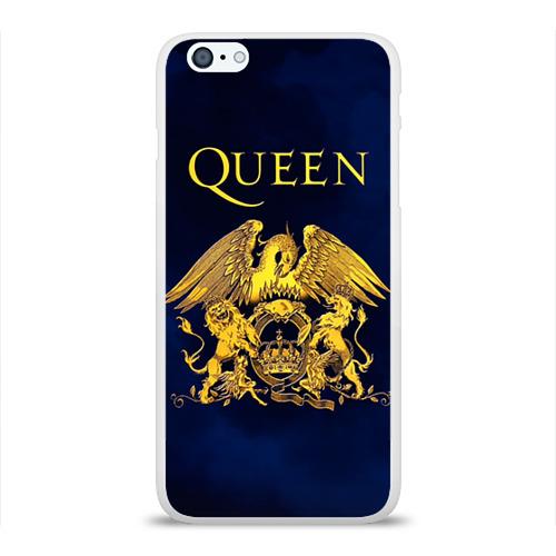 Чехол для Apple iPhone 6Plus/6SPlus силиконовый глянцевый  Фото 01, Группа Queen