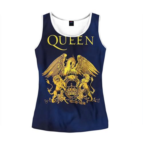 Женская майка 3D  Фото 01, Группа Queen