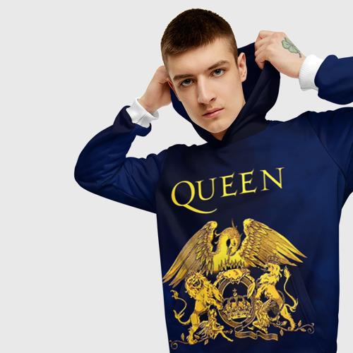 Мужская толстовка 3D  Фото 01, Группа Queen