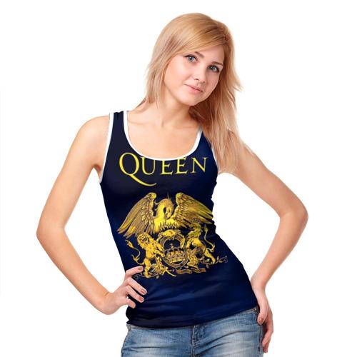 Женская майка 3D  Фото 05, Группа Queen
