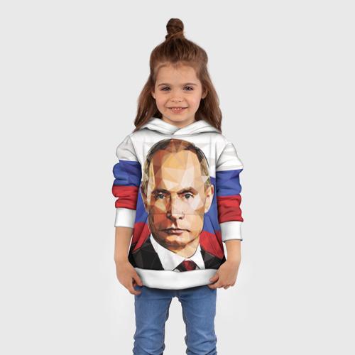 Детская толстовка 3D  Фото 01, Путин Владимир Владимирович