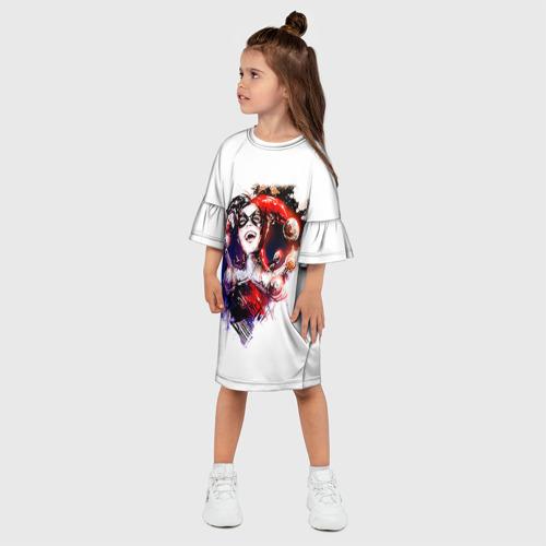 Детское платье 3D  Фото 03, Харли Куин