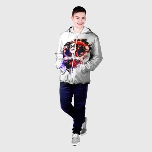 Мужская куртка 3D  Фото 03, Харли Куин