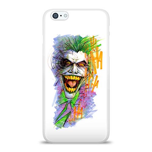 Чехол для Apple iPhone 6Plus/6SPlus силиконовый глянцевый  Фото 01, Джокер