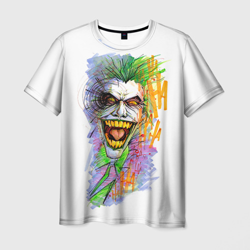 Мужская футболка 3D  Фото 01, Джокер